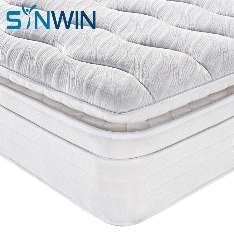 pillow top foam spring mattress Canada inner spring mattress hotel mattress