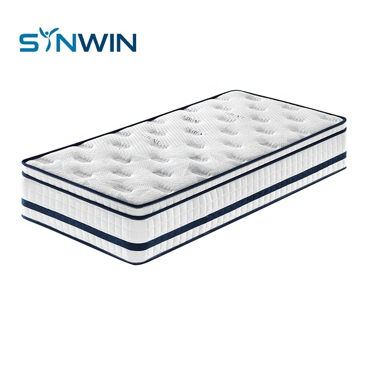 Full size pocket spring hotel bed mattress