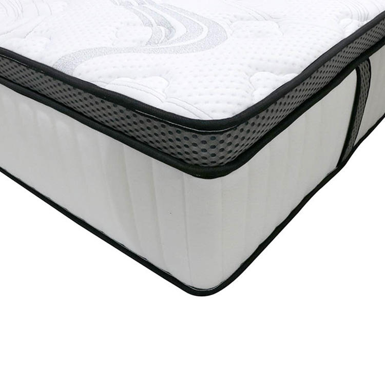 Luxury foam encase quality cool gel memory foam pocket spring bed mattresses