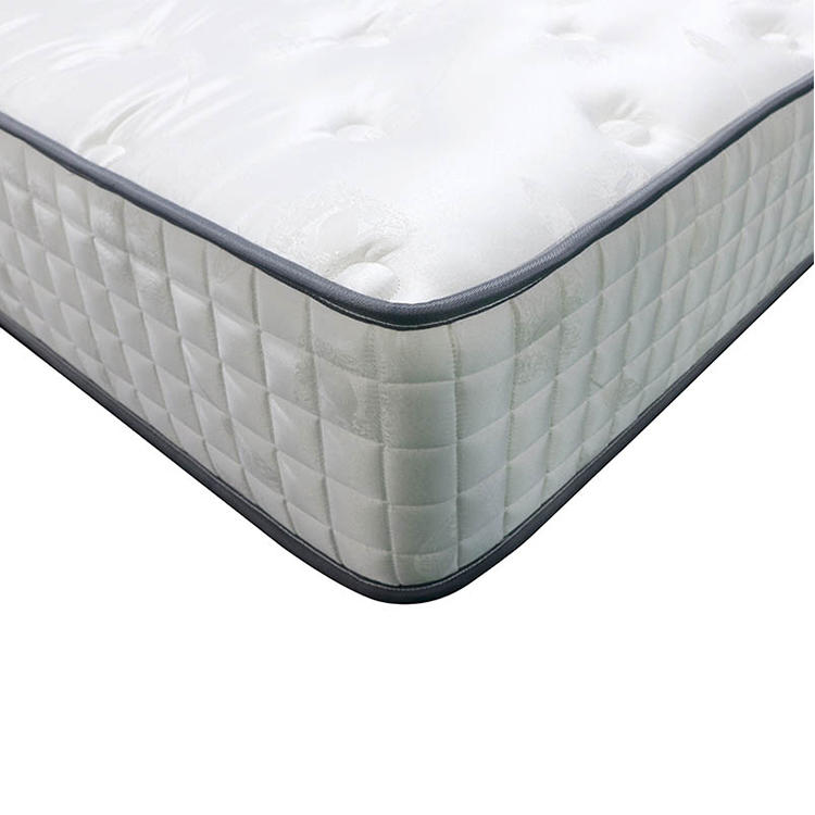 From China Manufacturer brocade fabric tight top Memory Foam Pocket Spring Mattress