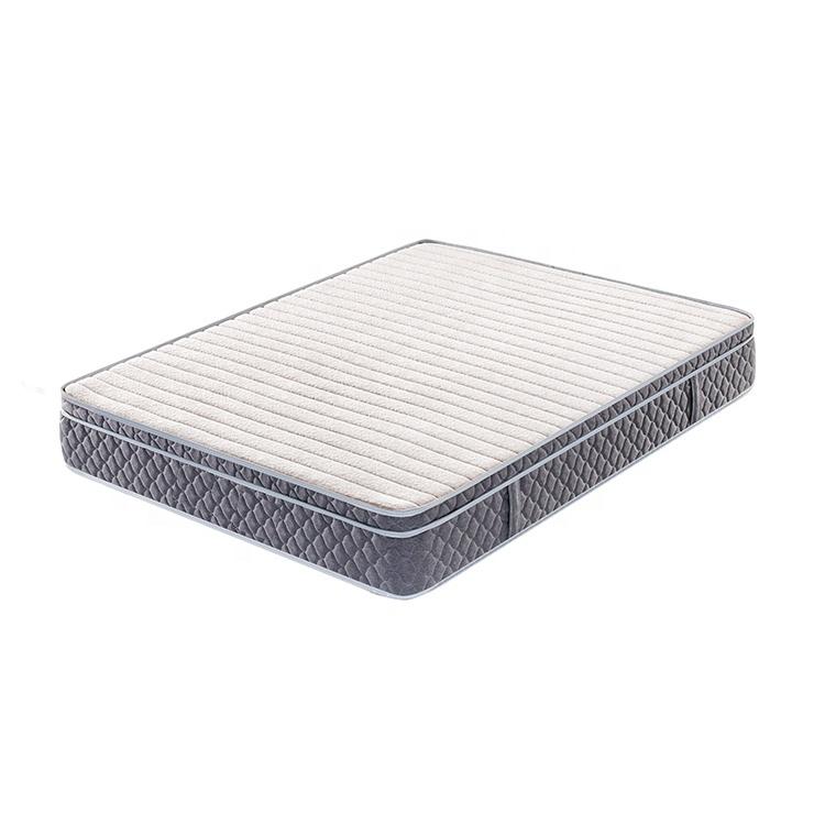 tight top thin spring fitpocket spring home/school/apartment mattress