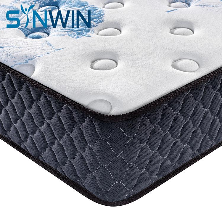 Memory Foam Pocket Spring Wholesale Mattress Rolled in Box Factory Mattress OEM ODM Customized