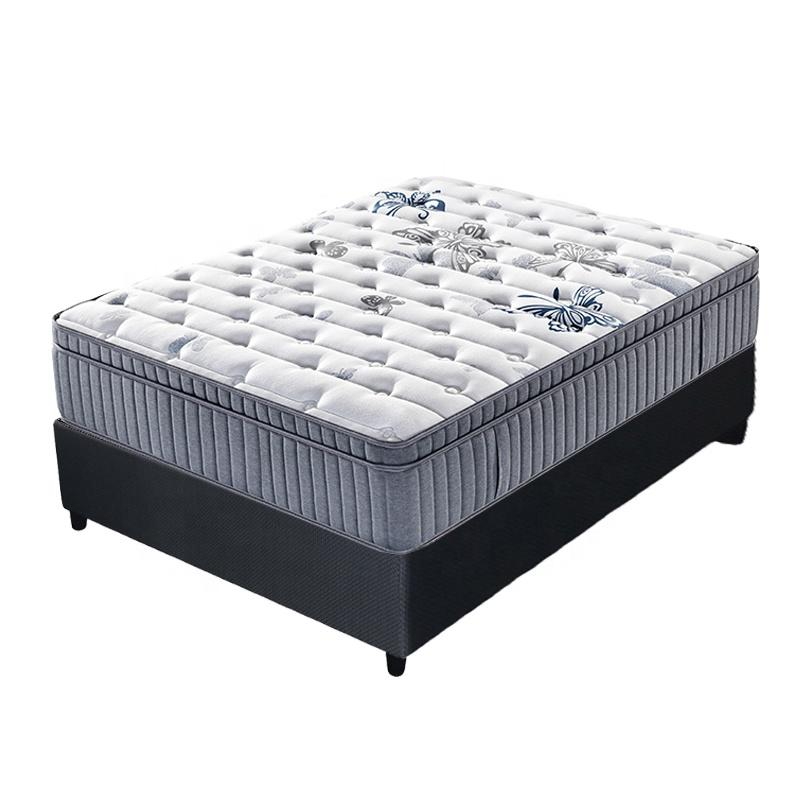 36cm 5 star level luxury hotel latex spring mattress king size
