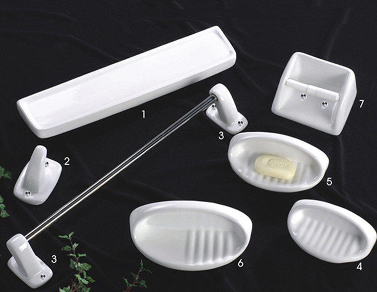 Chinese wall mounted ceramic bathroom accessories modern