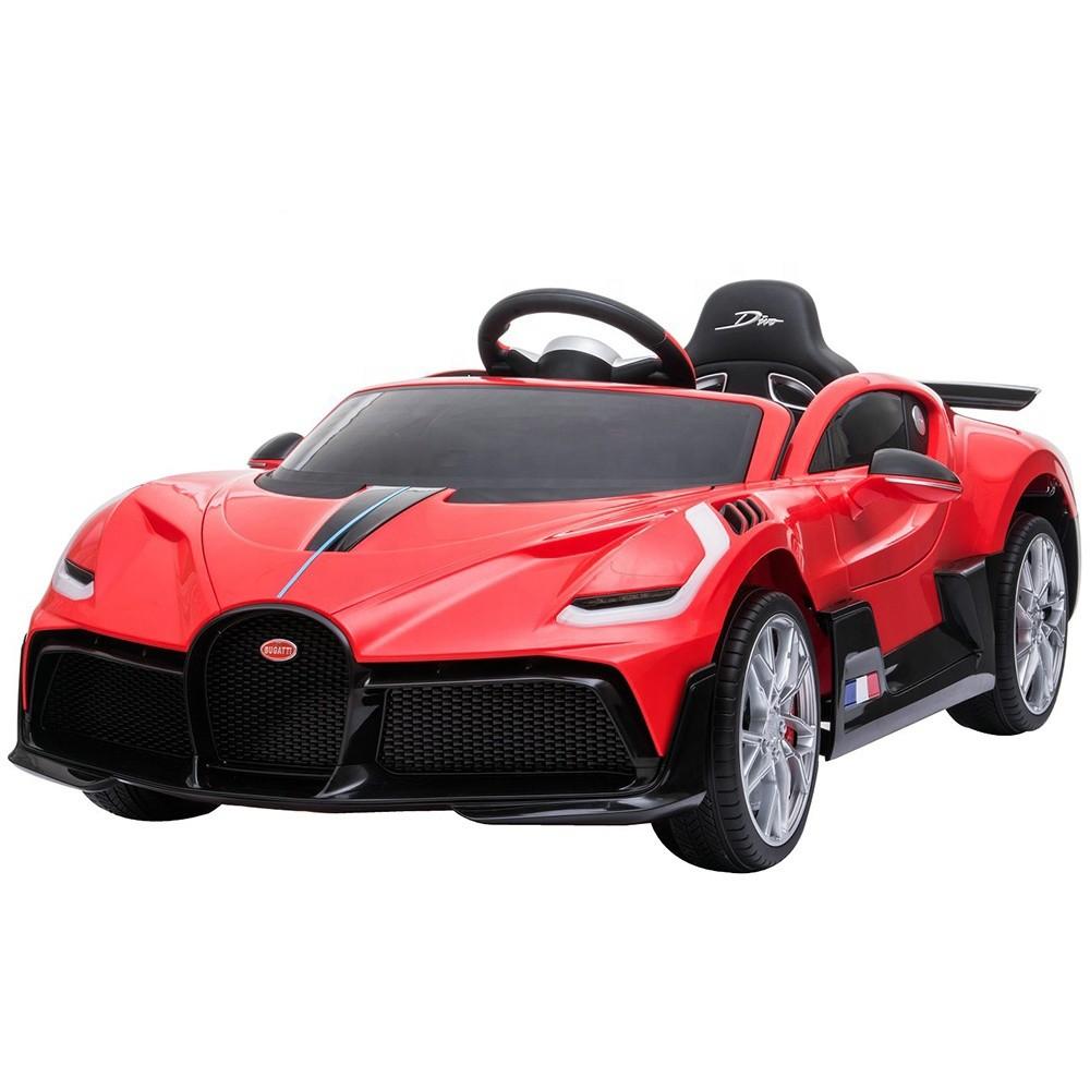 Battery cars kids drive children electric ride+on+car bugatti 12v