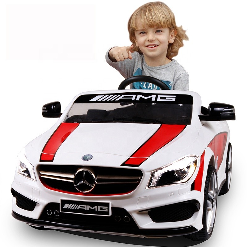 Hot sales electric car for children kids electric cars 12V mercedes ride on car