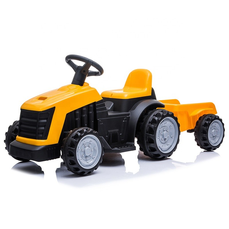 2020 new electric children ride on car battery power plastic ride on toy tractor for kids