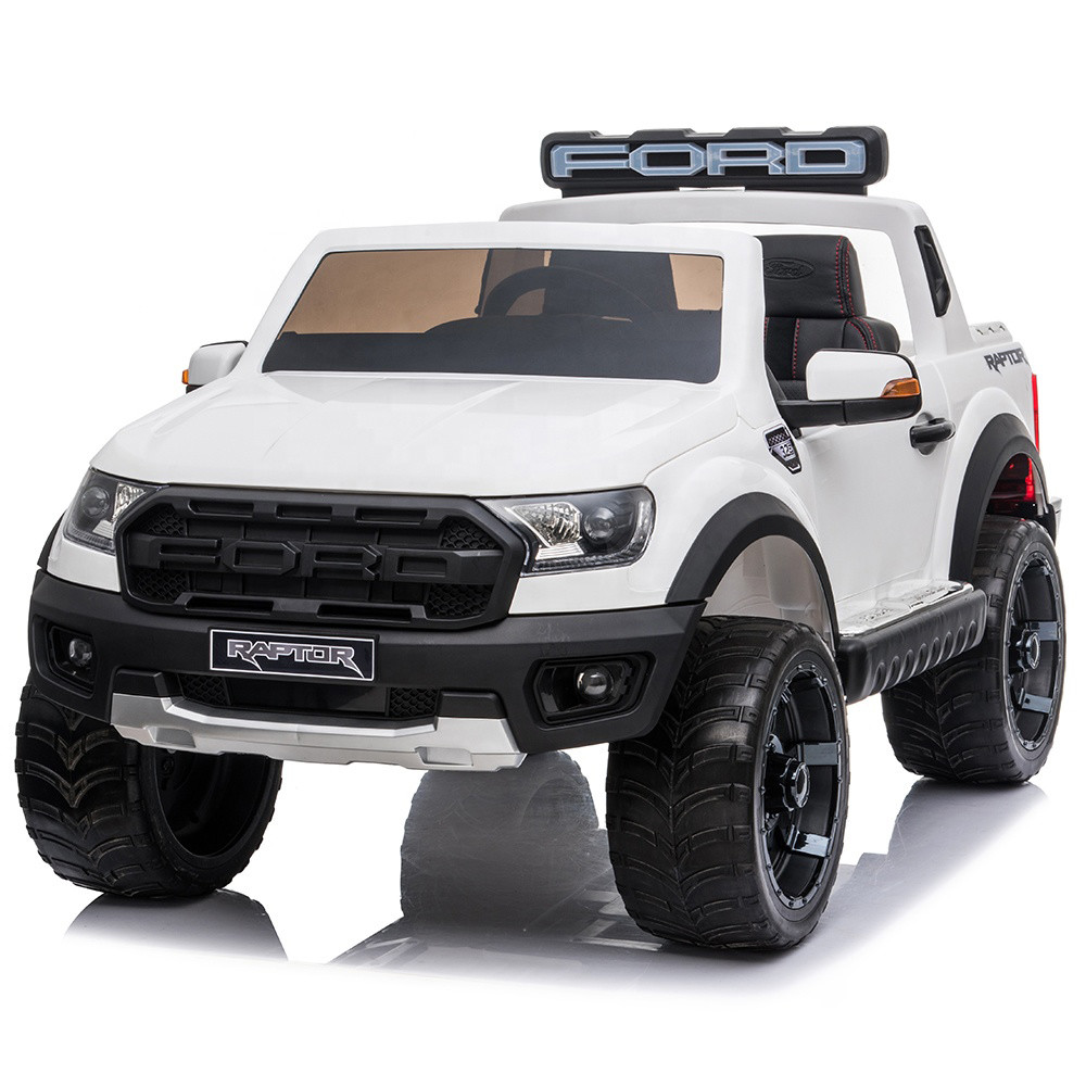 Kids ride on toy police car licensed big electric jeep for children with remote control