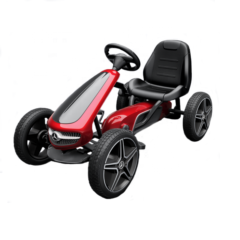 2019 new licensed kids go kart hot sale toy car for children with pedal car