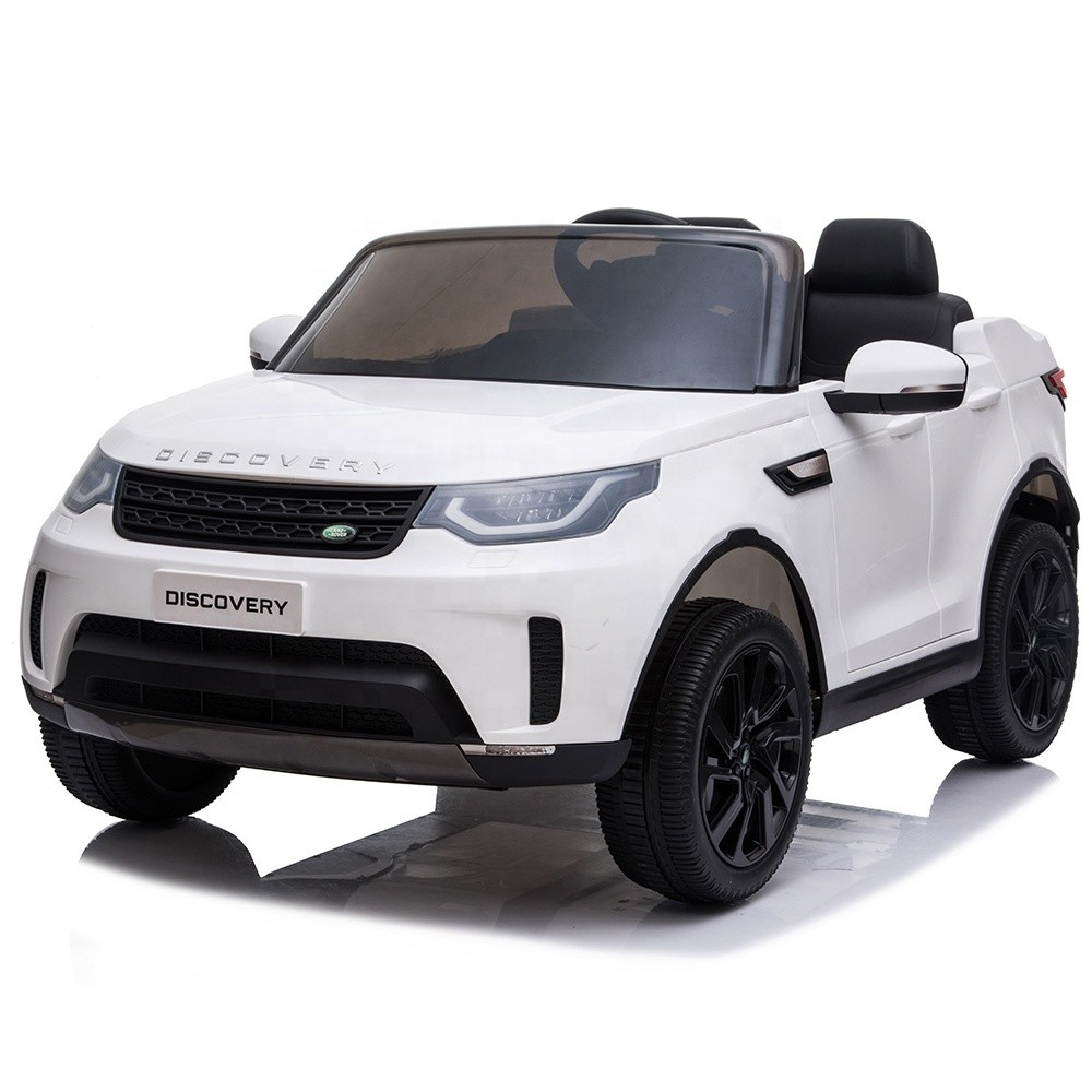 Licensed kids electric car 12v land rover remote control ride on car