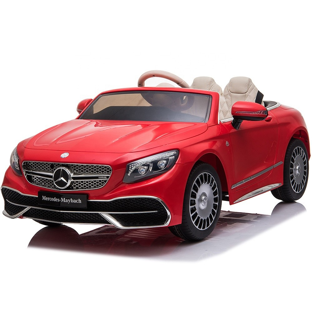 2019 newest benz licensed 12v electric ride on car power wheel kids toy car