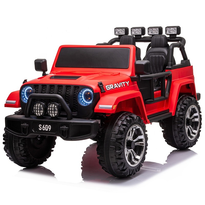 New electric children ride on toy car model jeep style 12V & 24V battery with remote MP3 kids electric car