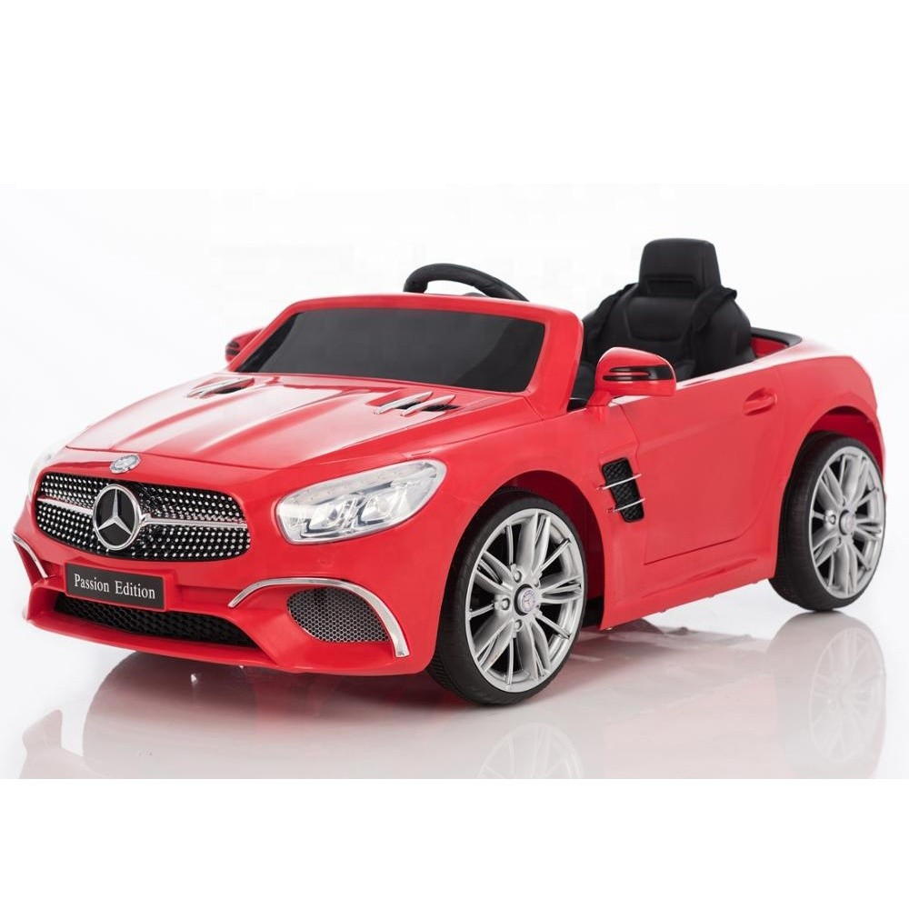 Cheap battery license car benz kids electric car baby ride on toy car