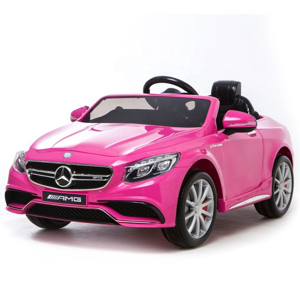 2018 New cheap kids ride on cars benz licensed children electronic toy car