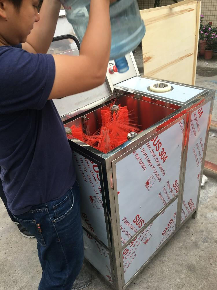 Inside Outside Washer Semi- auto Bottle BS-1 Uncovering 5 Gallon barrel Brushing Machine