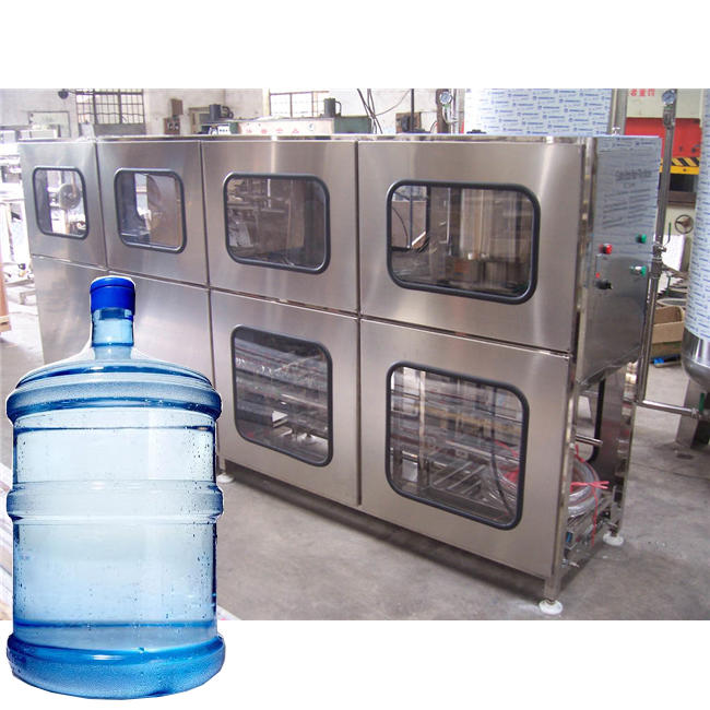 Automatic 5 gallon pure water making mineral water plant machine
