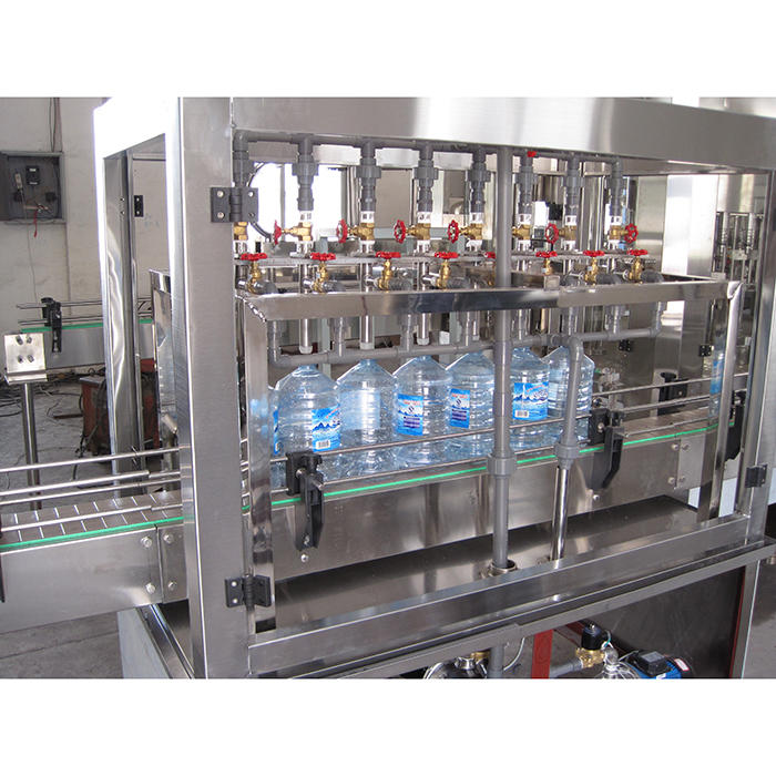 5-10 L mineral water plant water washing filling and capping machine
