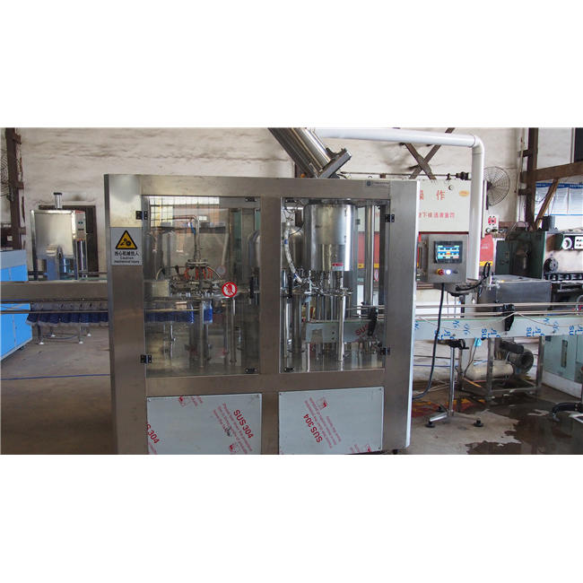 Monoblock Small machines mineral plant water automatic bottle washing filling capping machine