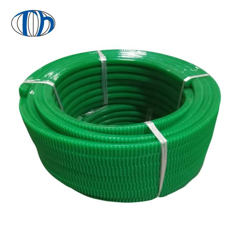 Good quality PU pattern conveyor triangle belts