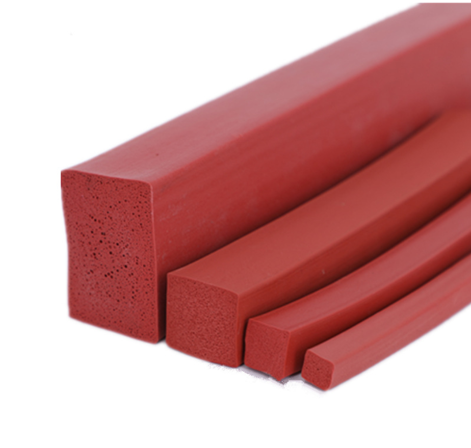 Rubber Extrusion Epdm Sponge Stick silicone foam strip