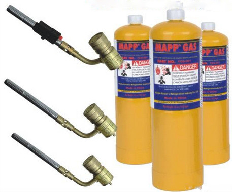 Mapp gas with map gas torch 450Grams