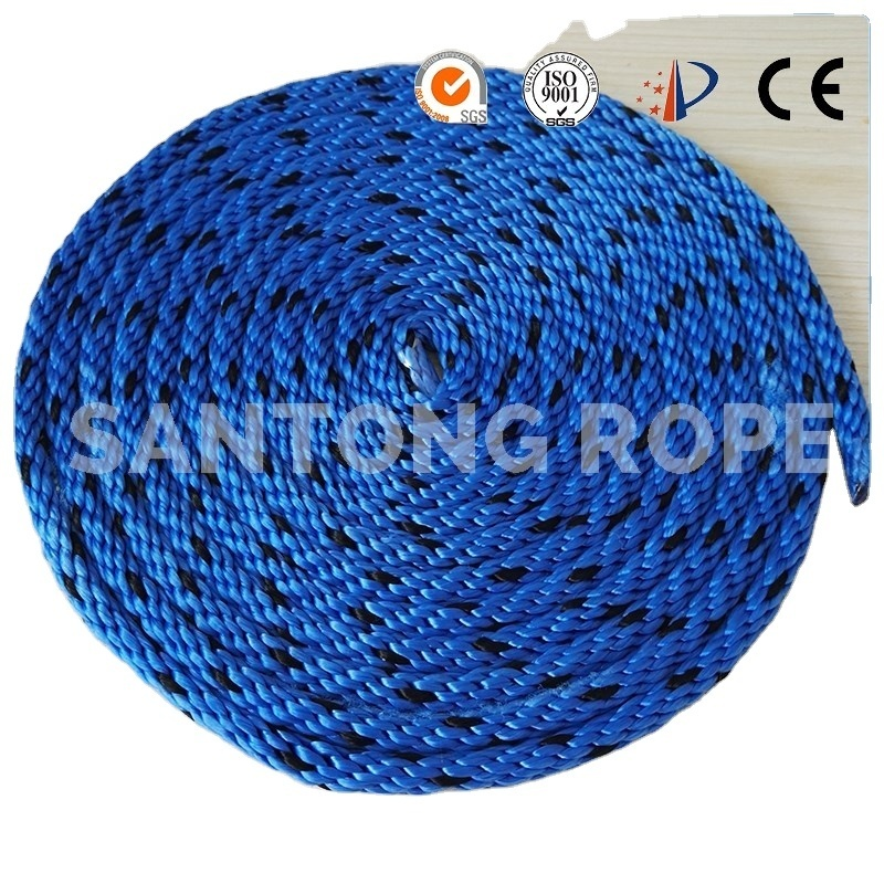 High performance customized package and size solidbraided nylon/ polypropylene marine rope dock line for sailboat,yacht, etc