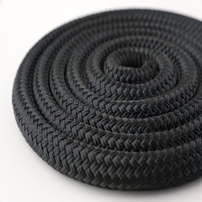 High quality customized package and size double braided nylon/polyester marine ropeanchor line