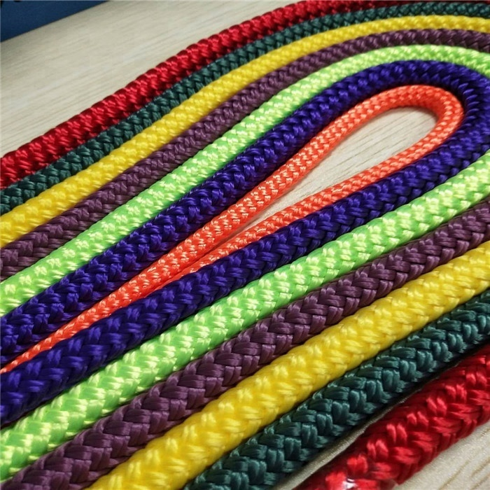 High qualitycustomized package and sizedouble braided polyester/ nylon/ ppmooring marine rope line