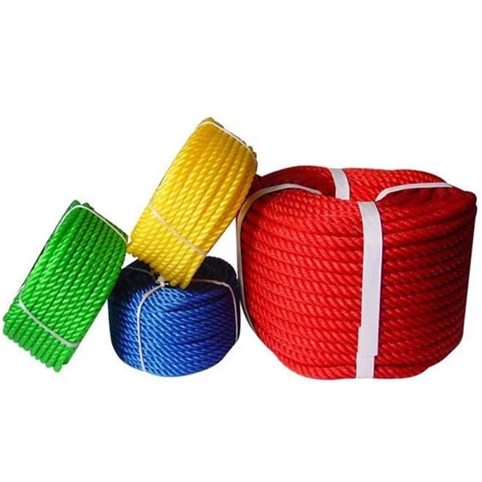 3 strand twisted long rope10mm 12mm 14mm 16mm 18mmthree strandmarine rope for mooring in kayak accessory