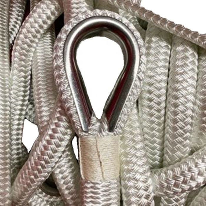 High performance customized package all kinds of size double braided nylon/polyester anchor line