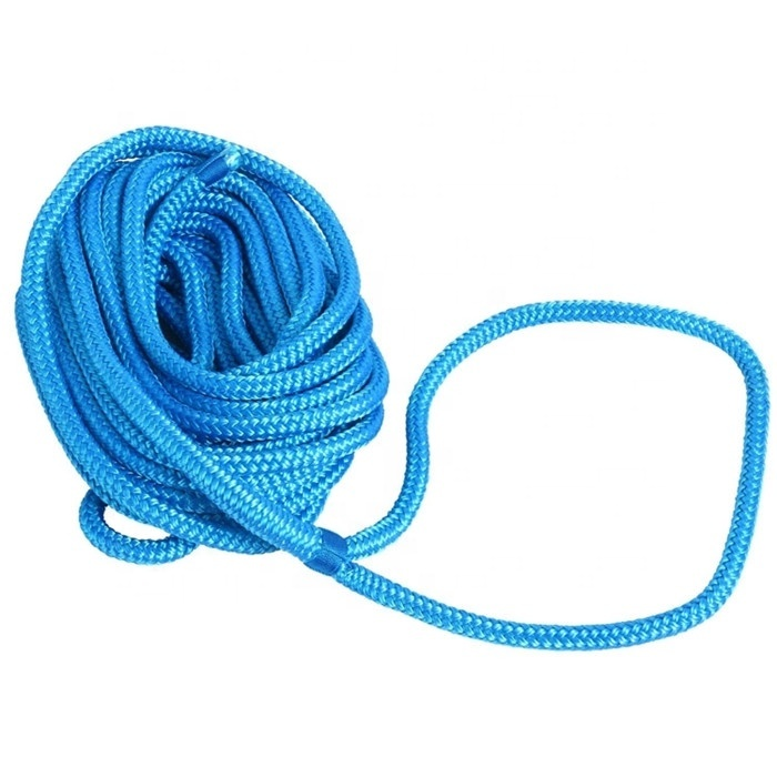perfectDock rope top level high qualitydouble braided of nylon dock lines for marine accessories OEM