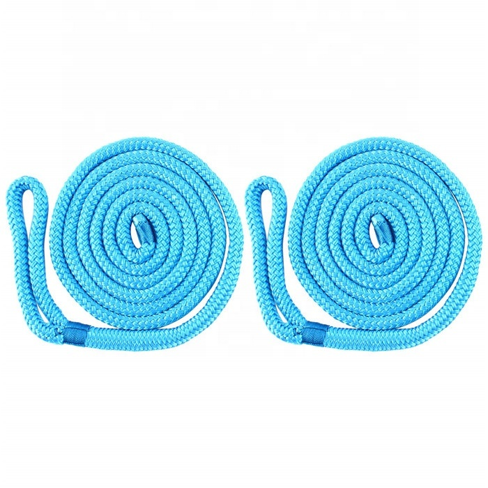 Top quality customized package and sizedouble braided polyester/ nylonmarine rope dock line fender line in 1, 2, 4 pack