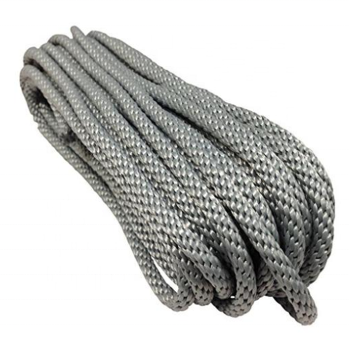 hot rope 3/8inch 15ft Solid braided construction dock line good quality
