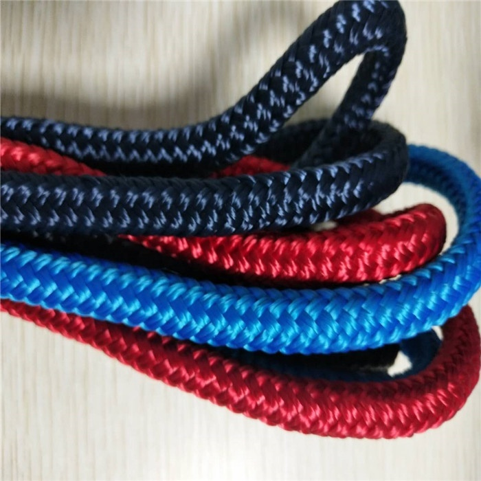 High quality customized package and size reasonable price polyester/ nylon double braided dock line marine rope boat accessory