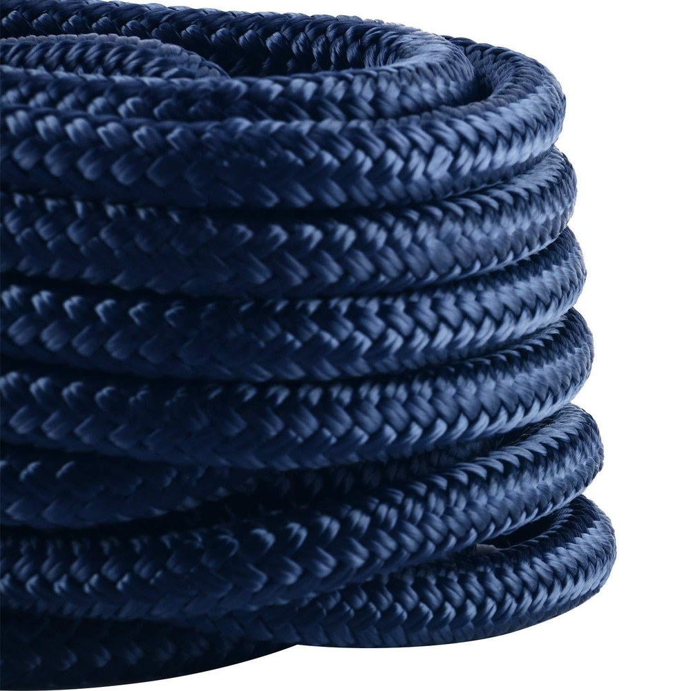 perfect hot rope 3/8inch 15ft dock line construction dock line good quality