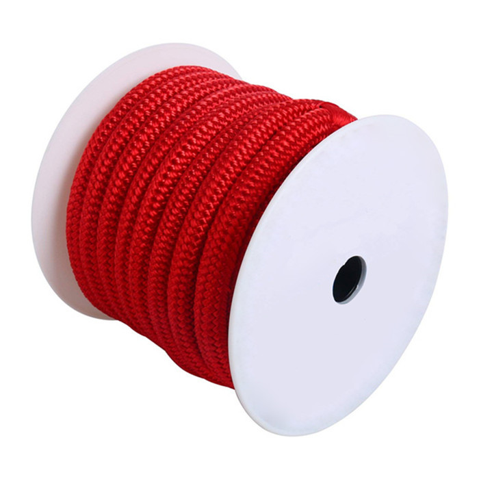 Anchor line fashion color Double braid redcolor anchor rope for mooring in kayak accessory