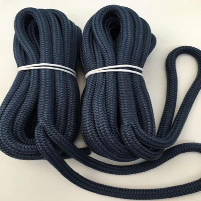 8mm 10mm 12mm coloredlength customized dock rope mooring boat yacht marine rope