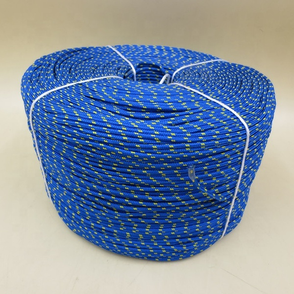 Top performance customized package all kinds of size double braided nylon/polyester marine ropeanchor line
