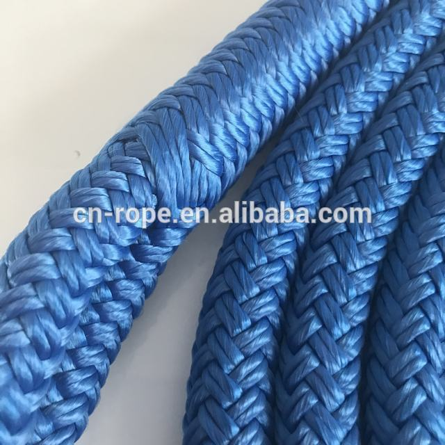 best selling 26mm large diameternavy colordouble braided nylon dock lines have no MOQ diameter from for boat ship