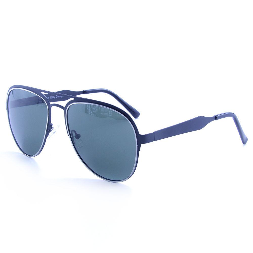 EUGENIA Stainless Lens Metal Retro Vintage Unisex Polarized Sunglasses