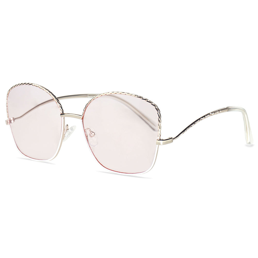 EUGENIA High-end Customized Personality Curved Frame fashion Sunglasses