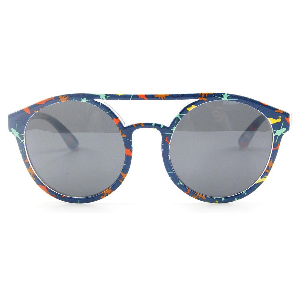 EUGENIA New arrived High Quality Children Round Kids Sunglasses UV400 Polarized Sunglasses for Children
