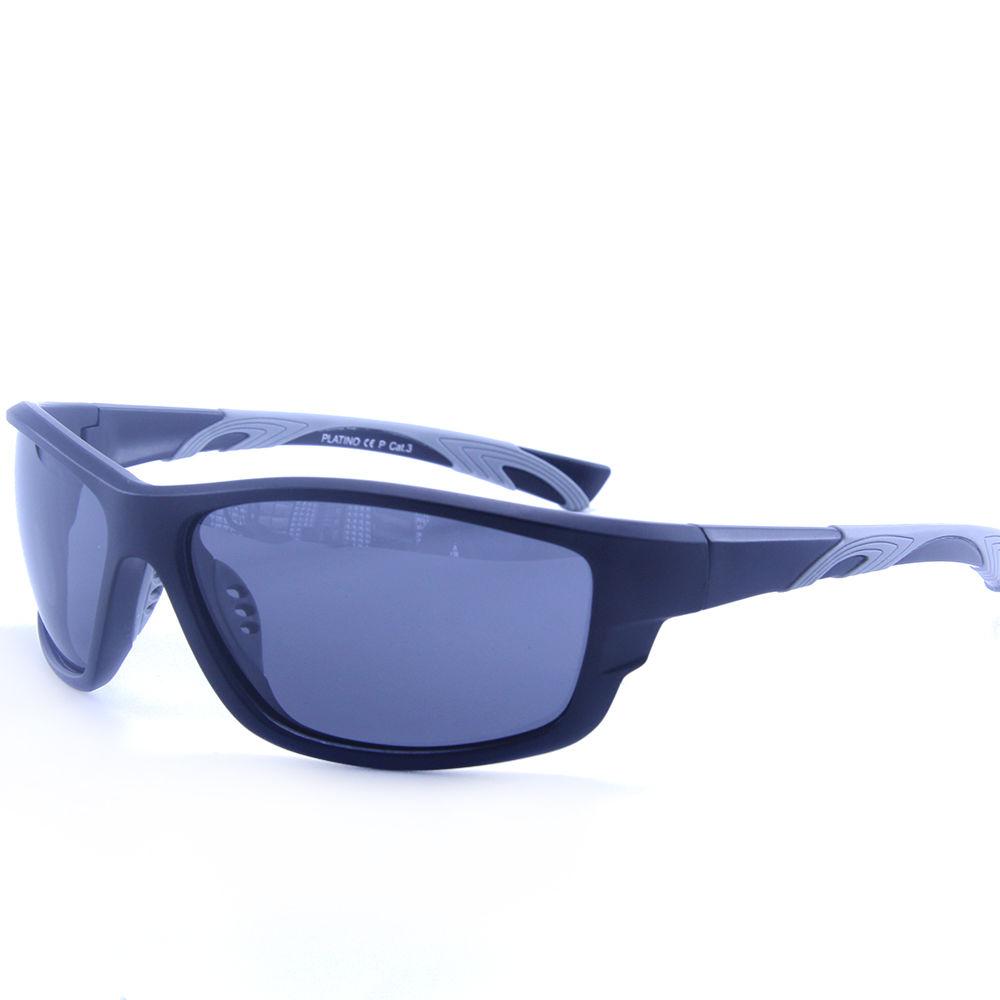 EUGENIA Rubber 1.1mm Polarized Lens Men Sports Sunglasses