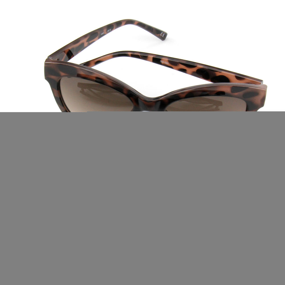 EUGENIA UV400 Protection Big Black Cat Eye China Factory Trendy Women Sunglasses