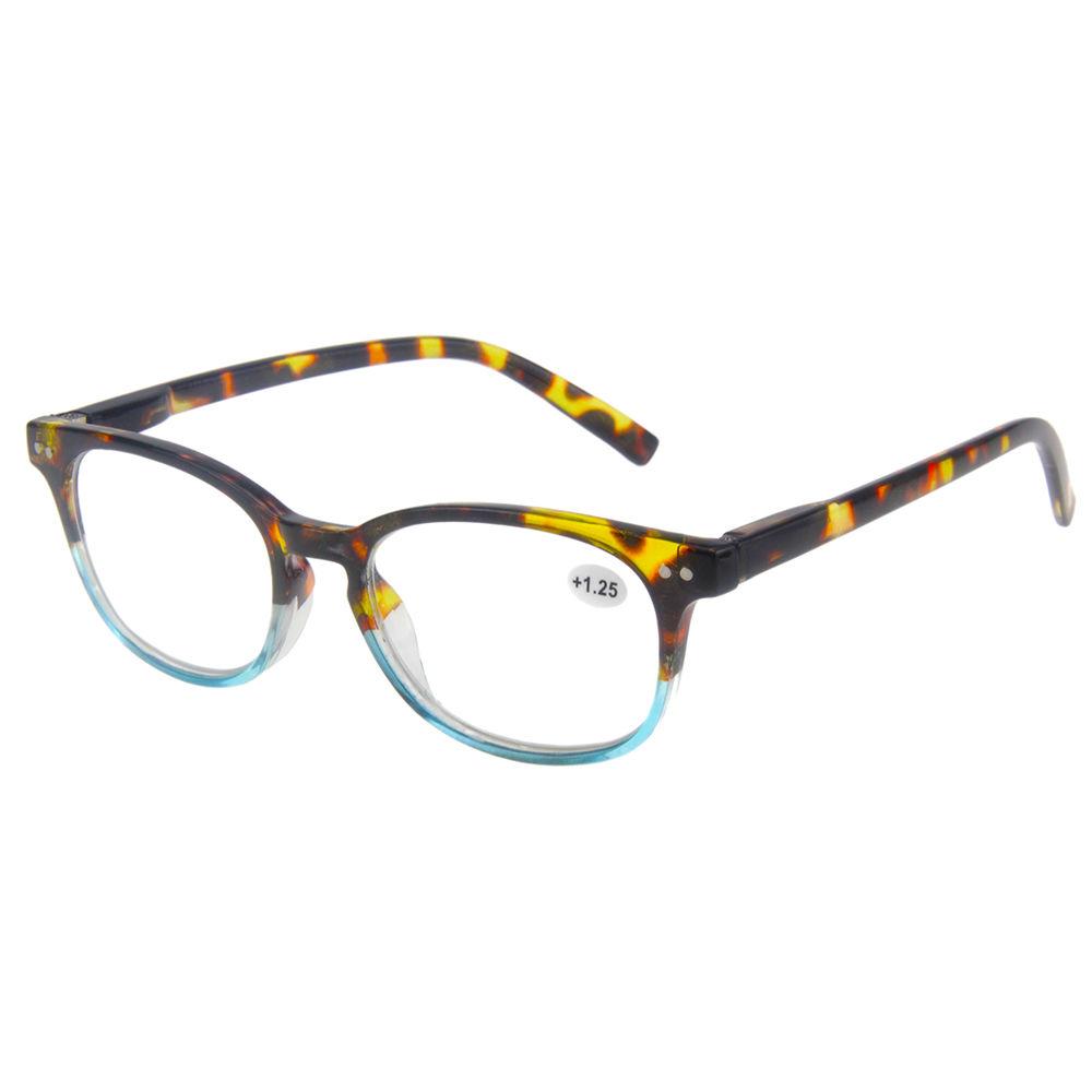 EUGENIA 2020 New Hot Sale Plastic Latest Frames Round Reading Glasses