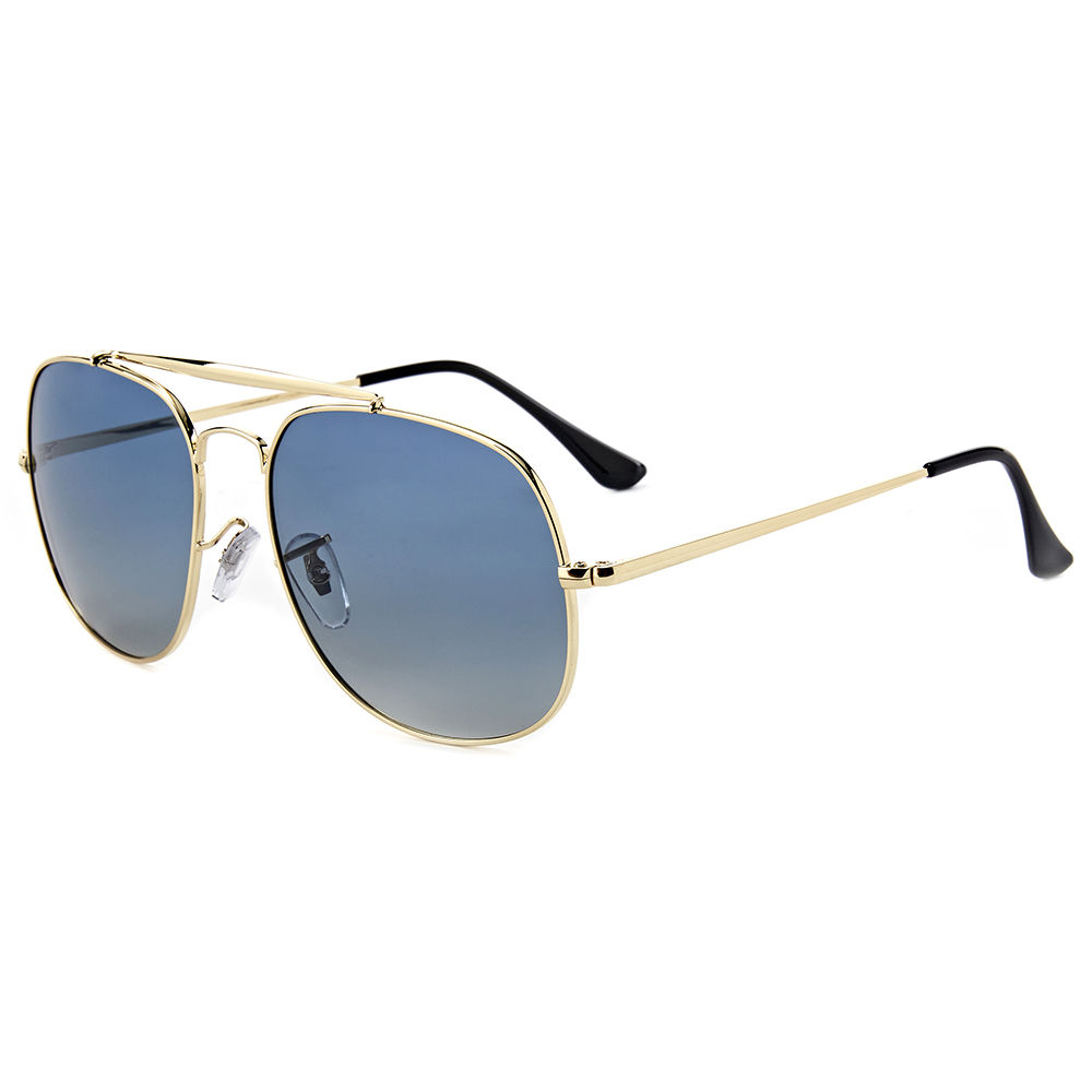 EUGENIA 2020 Custom Full Rim Square Metal Frame Polarized Sunglasses