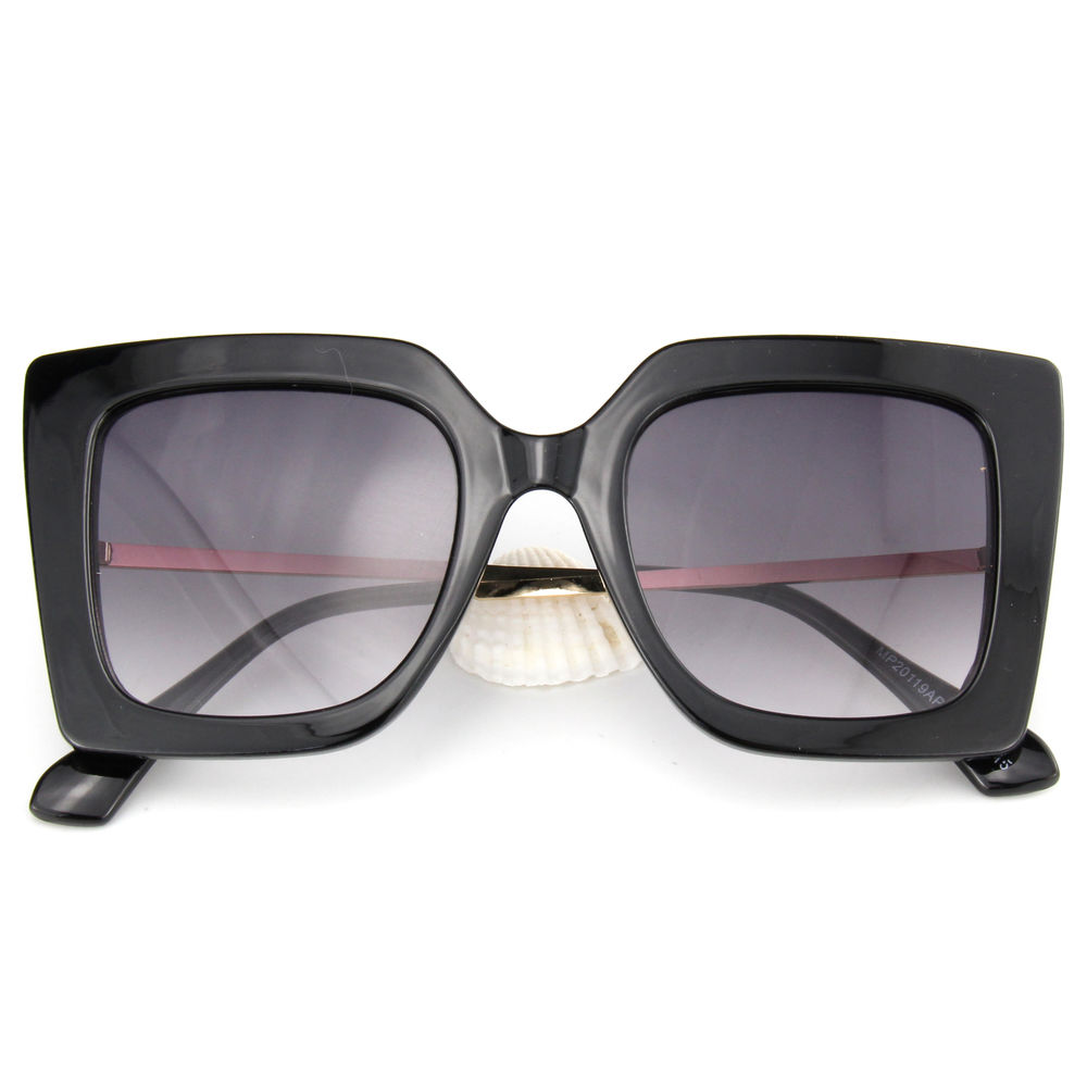 EUGENIA New woman Man metal temple High Quality Frame Fashion PC sunglasses