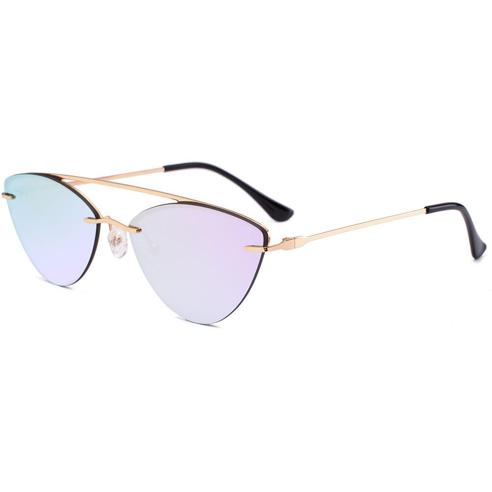 EUGENIA 2020 New Arrival Cat Eye Women Fashion Metal Sunglasses