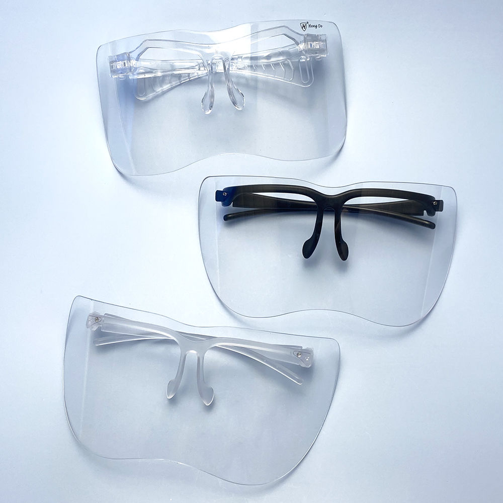 EUGENIA Fashion Women Big Frame Flat Top Eye Visor Eyeshield Visor Glasses Sunglasses