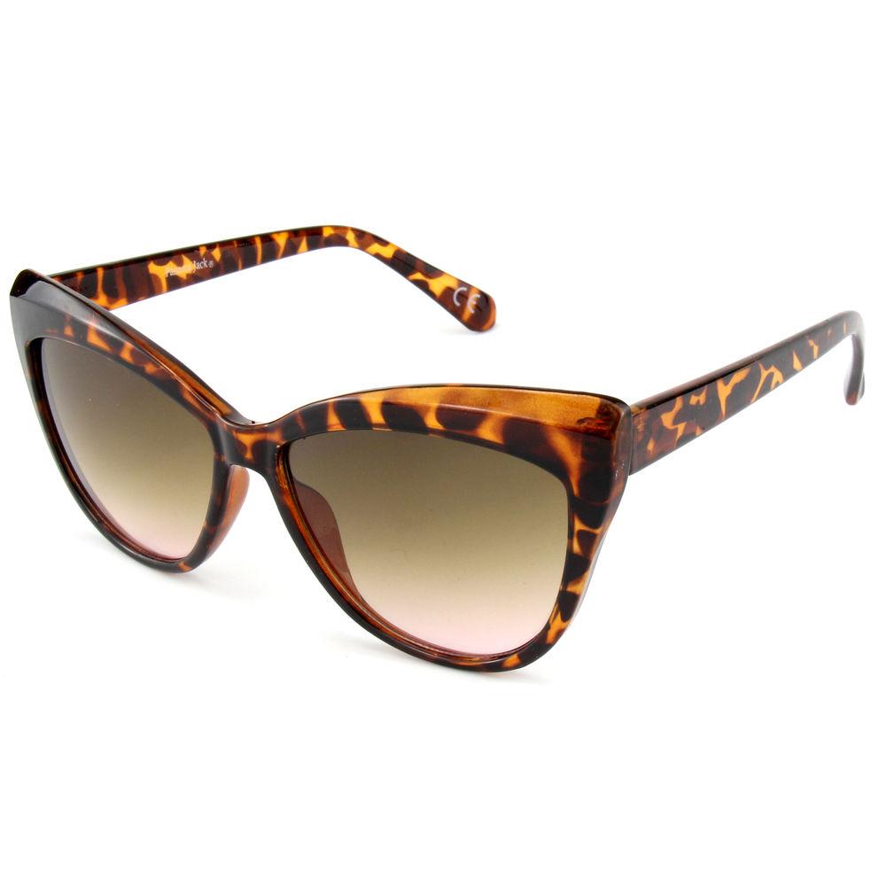 EUGENIA Big Cat Eye Brown Tortoise 2021 Newest Designer Women Sunglasses